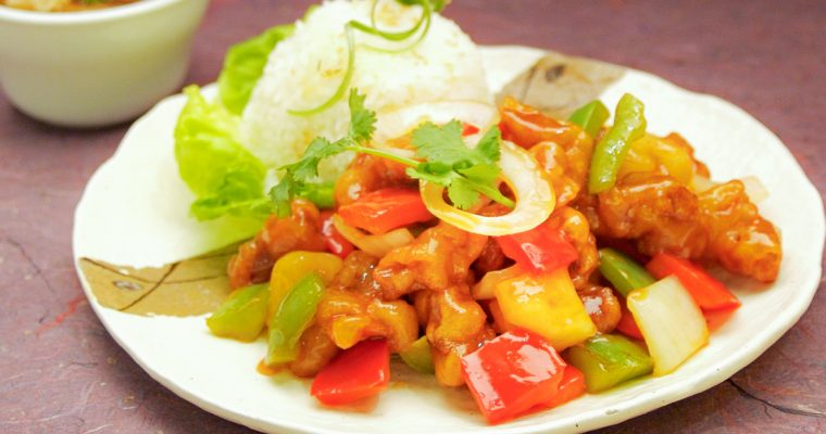 咕老肉 Sweet Sour Pork