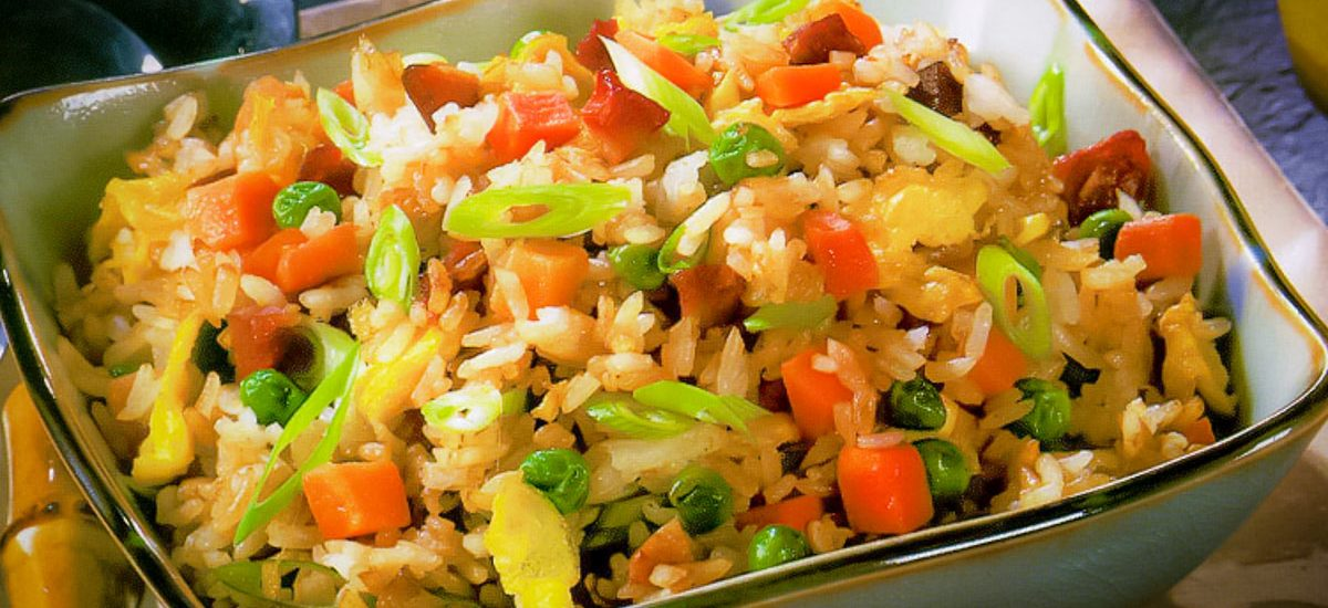 揚州炒飯 Yang Chow Fried Rice