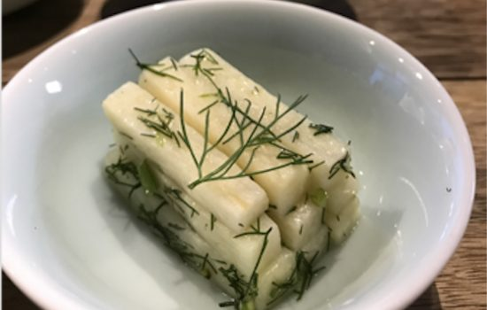 Bamboo Shoots with Dill Dressing