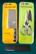 Chef Yan's Scissors & Knife with Guard Protector