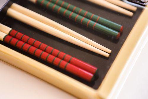 Bamboo Chopsticks Set of 4 pairs
